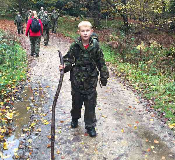 Students from Batchwood School, undertook a sponsored 5K walk through Epping Forest to raise money for their chosen charity Cancer Research.
